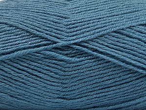 Fiber Content 50% Acrylic, 25% Wool, 25% Alpaca, Jeans Blue, Brand ICE, Yarn Thickness 3 Light  DK, Light, Worsted, fnt2-60902