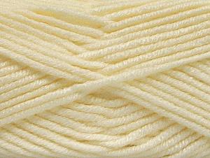 Fiber Content 100% Acrylic, Light Cream, Brand ICE, Yarn Thickness 5 Bulky  Chunky, Craft, Rug, fnt2-60922