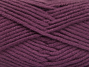 Fiber Content 100% Acrylic, Lavender, Brand ICE, Yarn Thickness 5 Bulky  Chunky, Craft, Rug, fnt2-60931