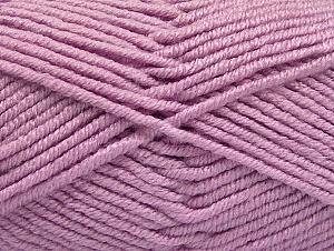 Fiber Content 100% Acrylic, Light Lilac, Brand ICE, Yarn Thickness 5 Bulky  Chunky, Craft, Rug, fnt2-60936