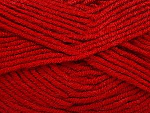 Fiber Content 100% Acrylic, Brand ICE, Dark Red, Yarn Thickness 5 Bulky  Chunky, Craft, Rug, fnt2-60939