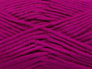 Fiber Content 100% Acrylic, Brand ICE, Fuchsia, Yarn Thickness 5 Bulky  Chunky, Craft, Rug, fnt2-60941