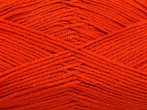 Fiber Content 100% Acrylic, Brand ICE, Dark Orange, Yarn Thickness 4 Medium  Worsted, Afghan, Aran, fnt2-60972