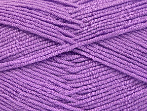 Fiber Content 100% Acrylic, Lilac, Brand ICE, Yarn Thickness 4 Medium  Worsted, Afghan, Aran, fnt2-60975