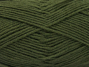 Fiber Content 100% Acrylic, Brand ICE, Dark Khaki, Yarn Thickness 4 Medium  Worsted, Afghan, Aran, fnt2-60982