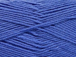 Fiber Content 100% Acrylic, Indigo Blue, Brand ICE, Yarn Thickness 4 Medium  Worsted, Afghan, Aran, fnt2-60987