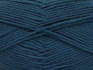 Fiber Content 100% Acrylic, Turquoise, Brand ICE, Yarn Thickness 4 Medium  Worsted, Afghan, Aran, fnt2-60988
