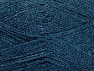 Fiber Content 100% Acrylic, Brand ICE, Dark Blue, Yarn Thickness 4 Medium  Worsted, Afghan, Aran, fnt2-60989