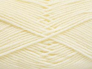 Fiber Content 100% Acrylic, Light Cream, Brand ICE, Yarn Thickness 4 Medium  Worsted, Afghan, Aran, fnt2-61277