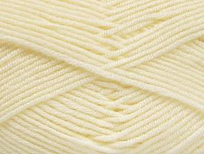 Fiber Content 100% Acrylic, Brand ICE, Cream, Yarn Thickness 4 Medium  Worsted, Afghan, Aran, fnt2-61278