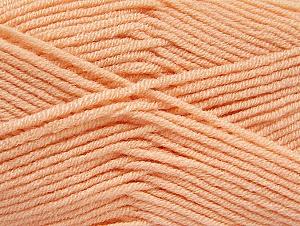 Fiber Content 100% Acrylic, Light Salmon, Brand ICE, Yarn Thickness 4 Medium  Worsted, Afghan, Aran, fnt2-61280