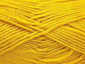 Fiber Content 100% Acrylic, Brand ICE, Gold, Yarn Thickness 4 Medium  Worsted, Afghan, Aran, fnt2-61281