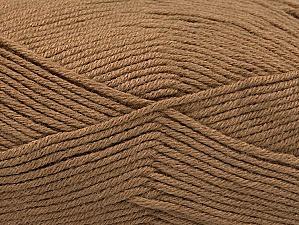 Fiber Content 60% Bamboo, 40% Polyamide, Brand ICE, Camel, Yarn Thickness 2 Fine  Sport, Baby, fnt2-61312