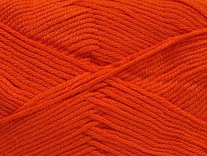 Fiber Content 60% Bamboo, 40% Polyamide, Brand ICE, Dark Orange, Yarn Thickness 2 Fine  Sport, Baby, fnt2-61323