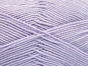 Fiber Content 60% Bamboo, 40% Polyamide, Light Lilac, Brand ICE, Yarn Thickness 2 Fine  Sport, Baby, fnt2-61334