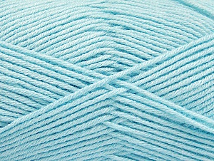 Fiber Content 60% Bamboo, 40% Polyamide, Light Turquoise, Brand ICE, Yarn Thickness 2 Fine  Sport, Baby, fnt2-61340
