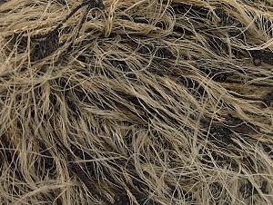 Fiber Content 50% Polyester, 50% Polyamide, Brand ICE, Camel, Black, fnt2-62082