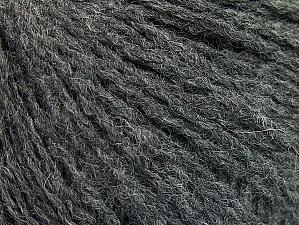 Fiber Content 50% Acrylic, 50% Wool, Brand ICE, Dark Grey, fnt2-62297