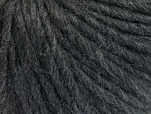 Fiber Content 50% Merino Wool, 25% Acrylic, 25% Alpaca, Brand ICE, Dark Grey, Yarn Thickness 5 Bulky  Chunky, Craft, Rug, fnt2-62347