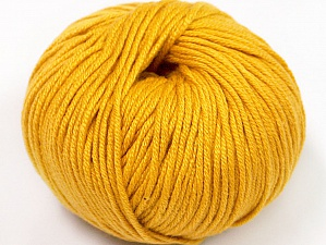 Fiber Content 50% Cotton, 50% Acrylic, Brand ICE, Gold, fnt2-62404