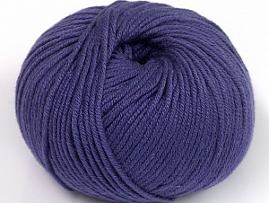 Fiber Content 50% Cotton, 50% Acrylic, Purple, Brand ICE, fnt2-62419
