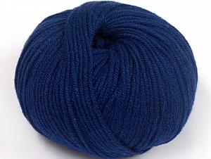 Fiber Content 50% Cotton, 50% Acrylic, Navy, Brand ICE, fnt2-62421
