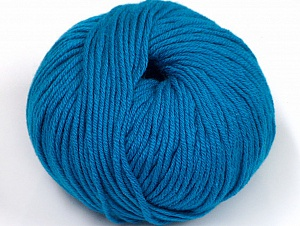 Fiber Content 50% Cotton, 50% Acrylic, Turquoise, Brand ICE, fnt2-62426