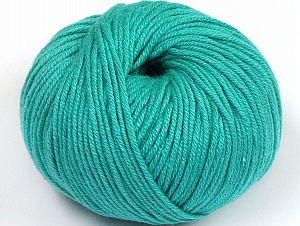 Fiber Content 50% Cotton, 50% Acrylic, Brand ICE, Emerald Green, fnt2-62427