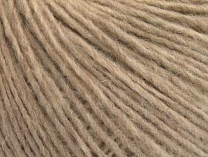 Fiber Content 50% Merino Wool, 25% Alpaca, 25% Acrylic, Brand ICE, Beige, fnt2-62515