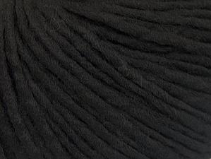 Fiber Content 100% Acrylic, Brand ICE, Black, Yarn Thickness 4 Medium  Worsted, Afghan, Aran, fnt2-62552