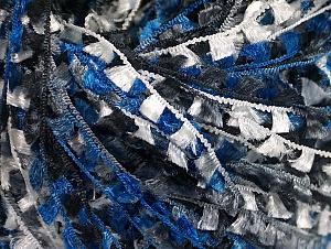 Fiber Content 100% Polyamide, White, Brand ICE, Grey, Blue, Black, Yarn Thickness 3 Light  DK, Light, Worsted, fnt2-62577