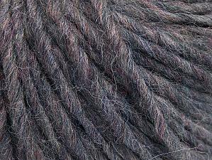 Fiber Content 50% Merino Wool, 25% Acrylic, 25% Alpaca, Brand ICE, Grey Melange, fnt2-62706