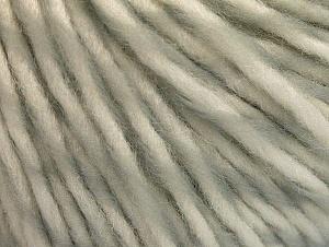 Fiber Content 55% Acrylic, 45% Wool, White, Brand ICE, Grey, fnt2-62728