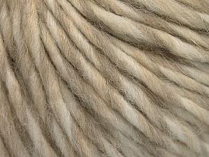 Fiber Content 50% Merino Wool, 25% Acrylic, 25% Alpaca, Brand ICE, Cream, Beige, fnt2-62838