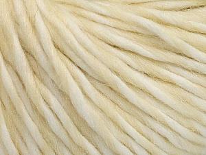 Fiber Content 50% Acrylic, 50% Wool, White, Brand ICE, Cream, fnt2-62983