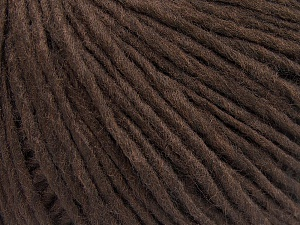 Fiber Content 50% Wool, 50% Acrylic, Brand Ice Yarns, Coffee Brown, fnt2-64669
