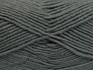 Fiber Content 50% Acrylic, 50% Wool, Brand Ice Yarns, Grey, fnt2-65187