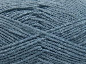 Fiber Content 50% Wool, 50% Acrylic, Indigo Blue, Brand Ice Yarns, fnt2-65193