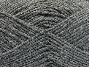 Fiber Content 60% Merino Wool, 40% Acrylic, Brand Ice Yarns, Grey, fnt2-66079