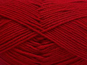 Fiber Content 60% Merino Wool, 40% Acrylic, Brand Ice Yarns, Dark Red, fnt2-66088