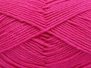 Fiber Content 60% Merino Wool, 40% Acrylic, Brand Ice Yarns, Candy Pink, fnt2-66090
