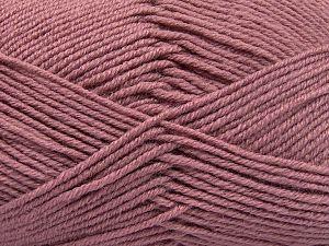 Fiber Content 60% Merino Wool, 40% Acrylic, Rose Pink, Brand Ice Yarns, fnt2-66092