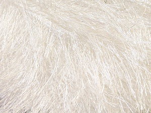Fiber Content 100% Polyester, White, Brand ICE, Yarn Thickness 5 Bulky  Chunky, Craft, Rug, fnt2-22745