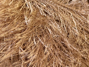 Fiber Content 100% Polyester, Light Camel, Brand ICE, Yarn Thickness 5 Bulky  Chunky, Craft, Rug, fnt2-22751