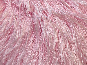 Fiber Content 100% Polyester, Brand ICE, Baby Pink, Yarn Thickness 5 Bulky  Chunky, Craft, Rug, fnt2-22765