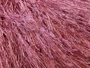 Fiber Content 100% Polyester, Rose Pink, Brand ICE, Yarn Thickness 5 Bulky  Chunky, Craft, Rug, fnt2-22771