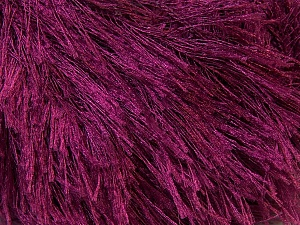 Fiber Content 100% Polyester, Brand ICE, Burgundy, Yarn Thickness 5 Bulky  Chunky, Craft, Rug, fnt2-22796