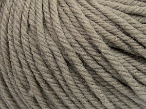 SUPERWASH WOOL BULKY is a bulky weight 100% superwash wool yarn. Perfect stitch definition, and a soft-but-sturdy finished fabric. Projects knit and crocheted in SUPERWASH WOOL BULKY are machine washable! Lay flat to dry. Fiber Content 100% Superwash Wool, Brand ICE, Beige, Yarn Thickness 5 Bulky  Chunky, Craft, Rug, fnt2-42822