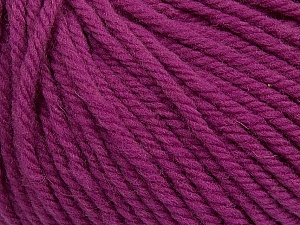 SUPERWASH WOOL BULKY is a bulky weight 100% superwash wool yarn. Perfect stitch definition, and a soft-but-sturdy finished fabric. Projects knit and crocheted in SUPERWASH WOOL BULKY are machine washable! Lay flat to dry. Fiber Content 100% Superwash Wool, Orchid, Brand ICE, Yarn Thickness 5 Bulky  Chunky, Craft, Rug, fnt2-42843