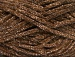 Chenille Lights White Brown